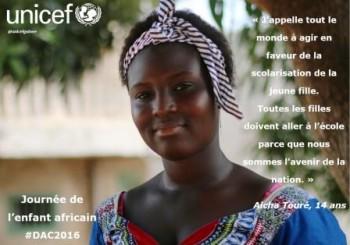 Aicha Touré, 14 ans