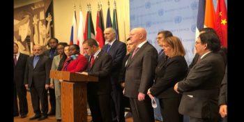 ONU : Près de 50 pays membres s'opposent à une ingérence au Venezuela