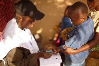 enfant vacciné