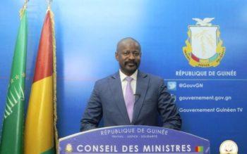 Guinée : Compte rendu du conseil des Ministres du 19 Mai 2017